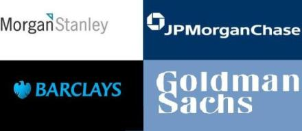 Goldman-Barclays-JPMorgan-Morgan-Stanley 2